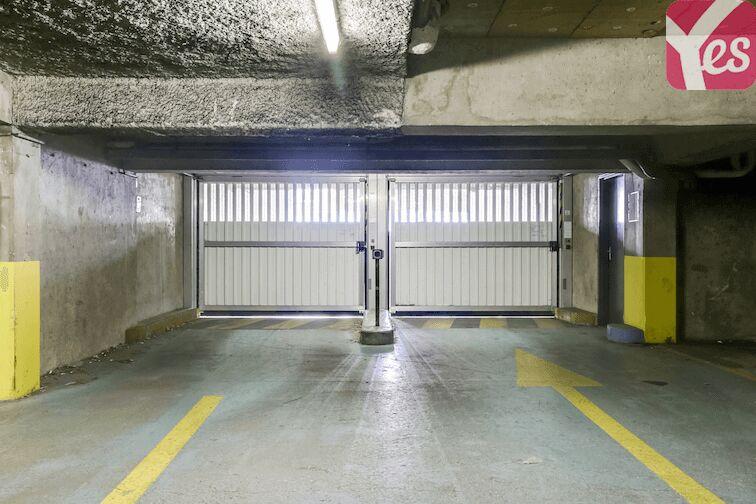 Parking Puteaux - hôpital caméra