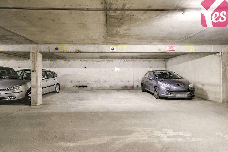 Parking Puteaux - hôpital garage