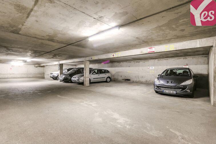 Parking Puteaux - hôpital souterrain