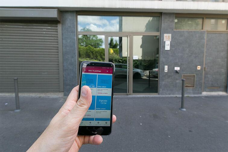 Parking Cimetière Parisien de Saint-Ouen gardien