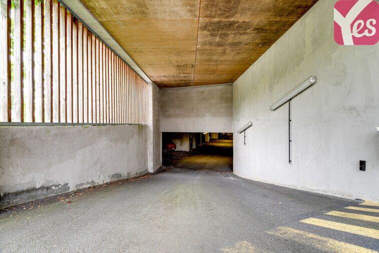 Parking Piscine de l'Axe Majeur - Nantes Erdre caméra