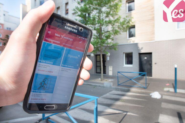 Parking Centre-ville - Aubervilliers caméra