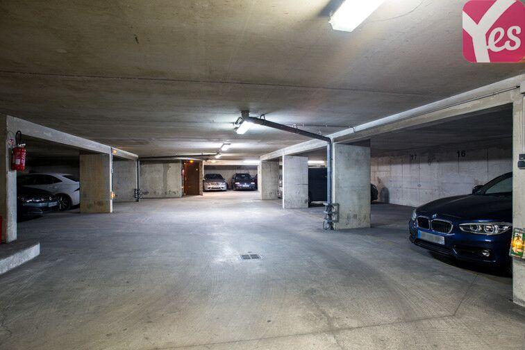 Parking Brochant - avenue de Clichy - Paris 17 caméra