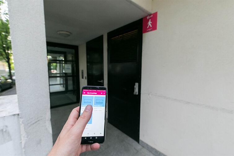 Parking Gare de Nanterre Préfecture gardien