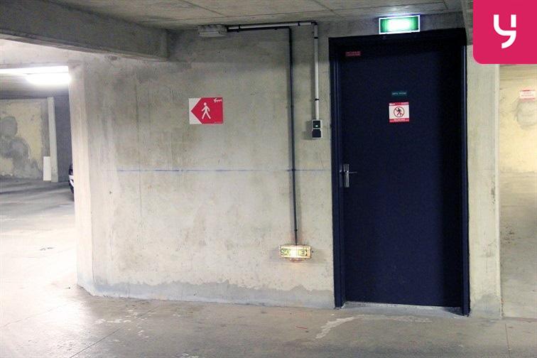 Parking Montrouge - Porte d'Orléans sécurisé