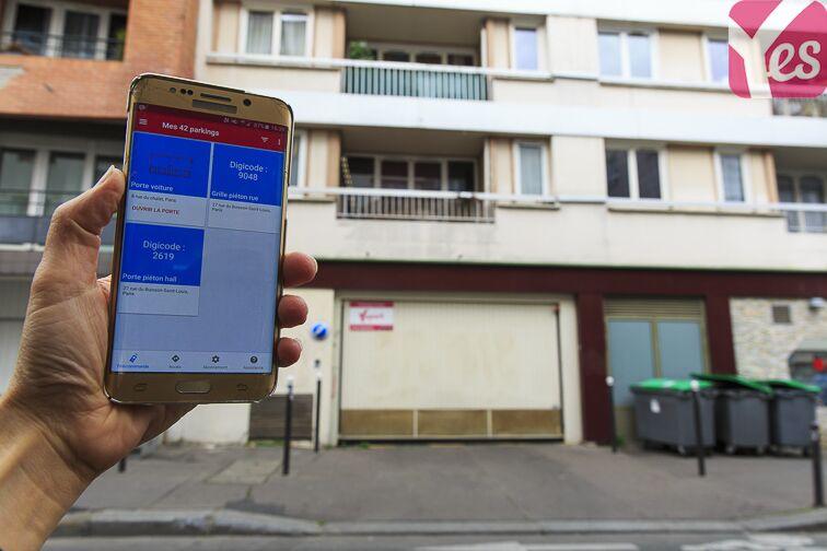 Parking École Nationale Supérieure d'Architecture - Paris-Belleville à louer