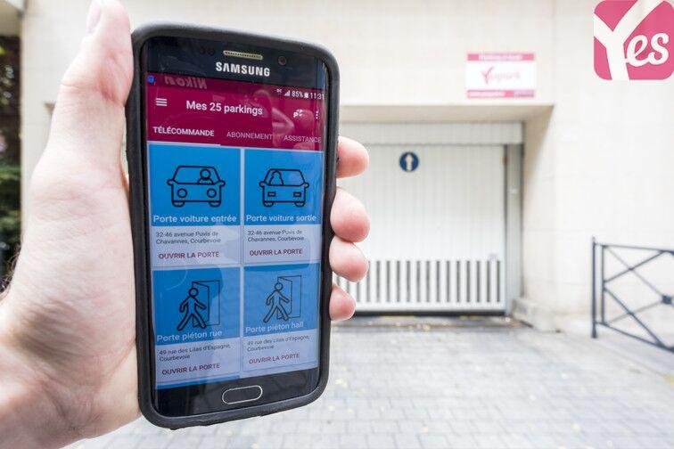 location parking Courbevoie - Fb de l'Arche - Les Fauvelles