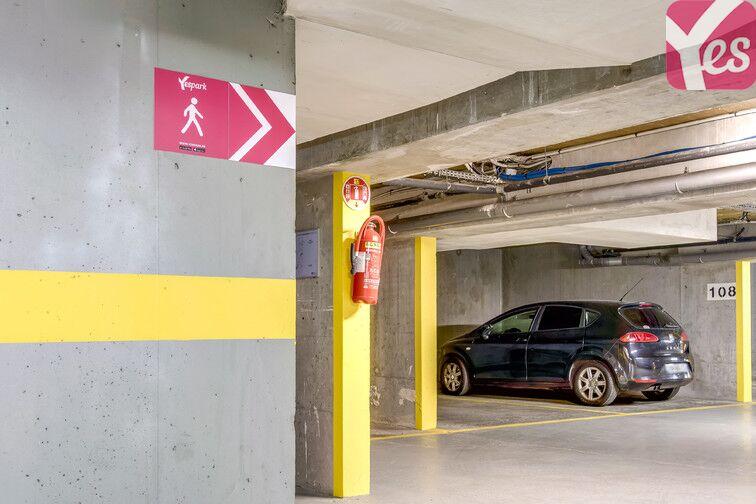 Parking Montsouris - Dareau - Alésia sécurisé