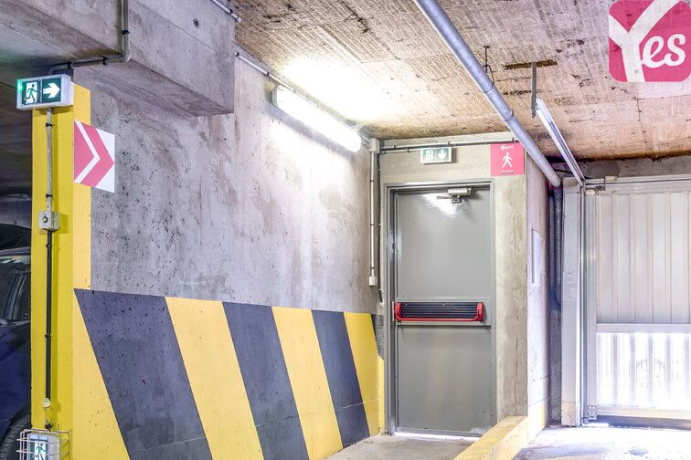 Parking Montsouris - Dareau - Alésia souterrain