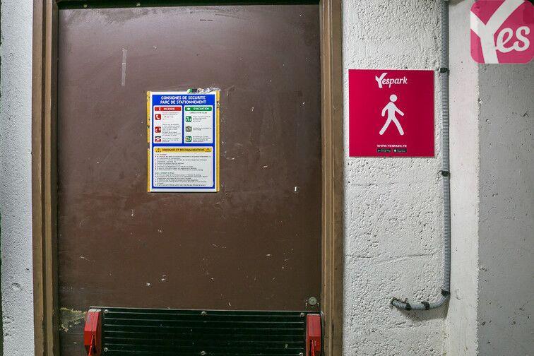 Parking La Madeleine - Hôpital l'Archet 2 - Nice sécurisé