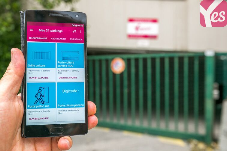 location parking La Madeleine - Hôpital l'Archet 2 - Nice