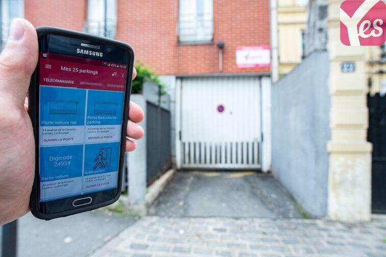 location parking Gare - Zone d'activités du Commandant Rolland - Le Bourget