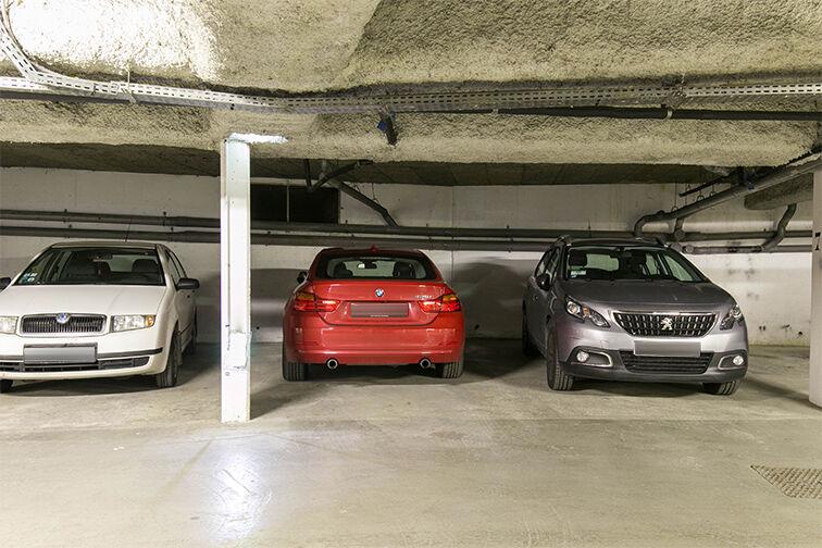 Parking Les Lilas - Liberté caméra