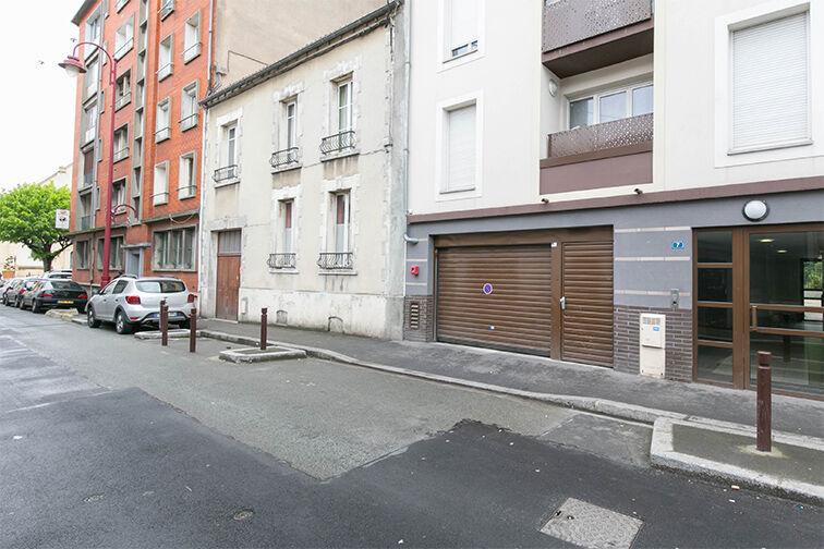Parking Mairie de Stains secure
