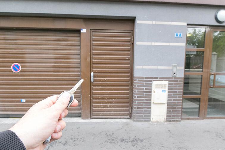 Parking Mairie de Stains cctv