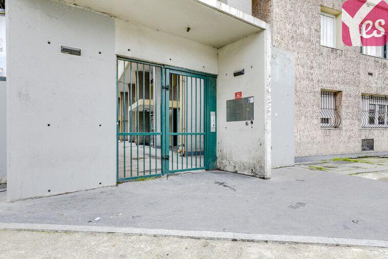 Parking Rue des Poissonniers - Paris 18 caméra