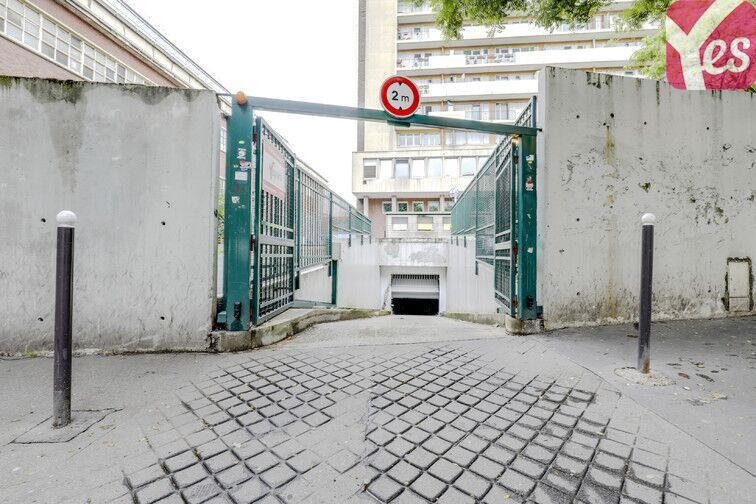 Parking Rue des Poissonniers - Paris 18 sécurisé