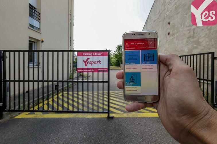 L'application Yespark vous facilite l'accès au parking !