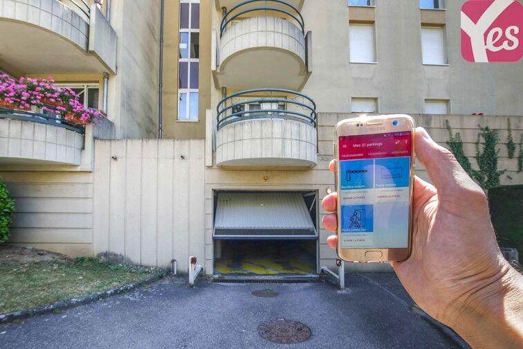 Parking Jardin botanique - Metz sécurisé