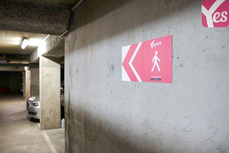 Parking Forbach - Centre-Ville souterrain