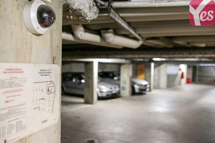Parking Forbach - Centre-Ville à louer