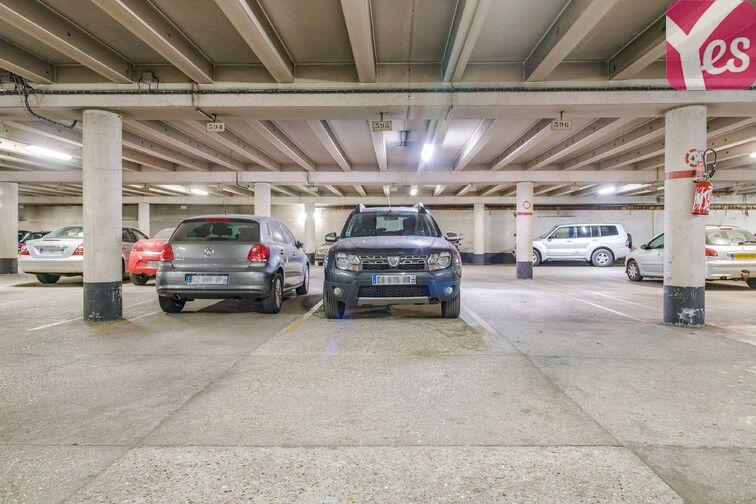 Parking Pont de Sèvres - Boulogne-Billancourt sécurisé