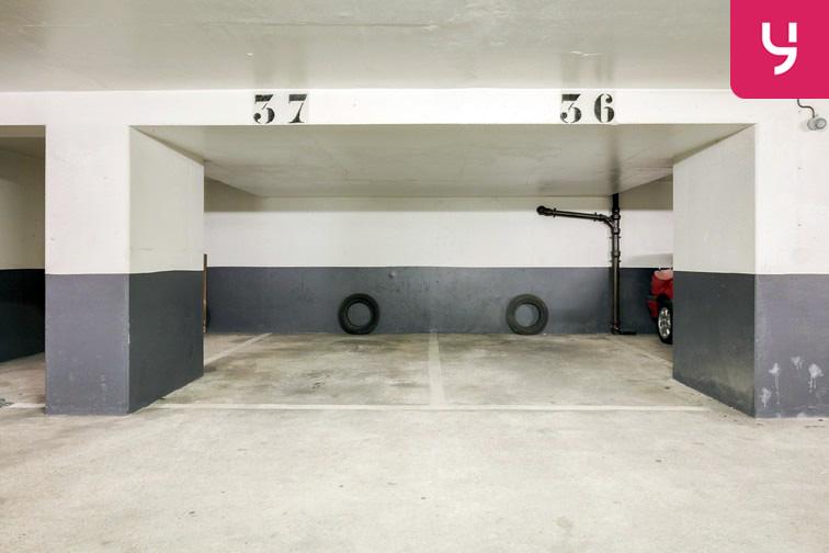 Parking Champerret - Porte d'Asnières - Levallois-Perret (place moto) caméra