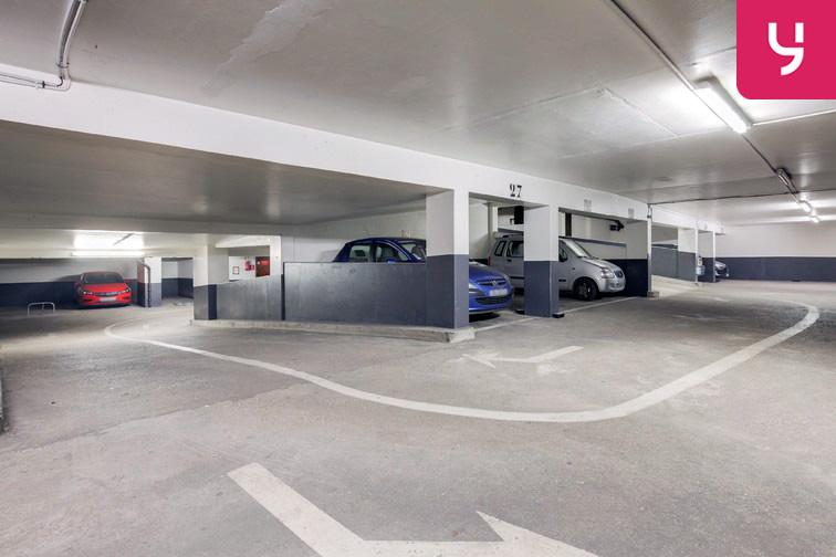 Parking Champerret - Porte d'Asnières - Levallois-Perret (place moto) souterrain