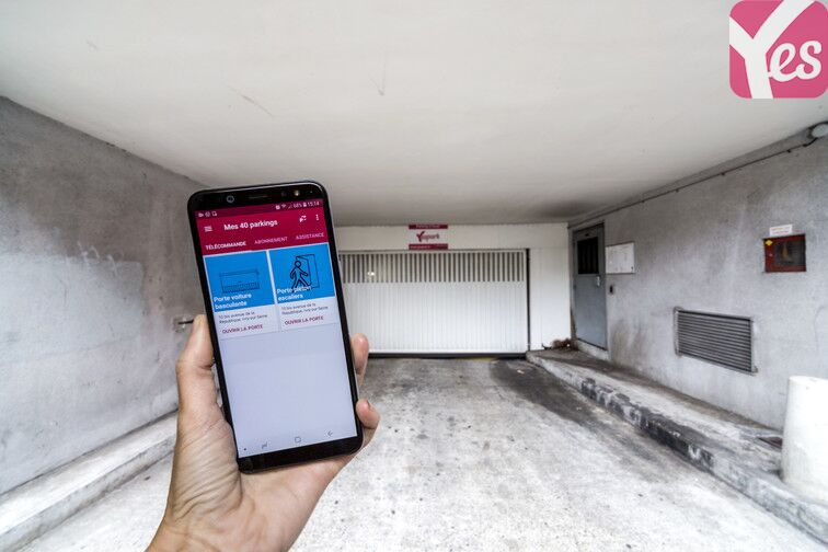L'application Yespark vous facilite l'accès au parking !