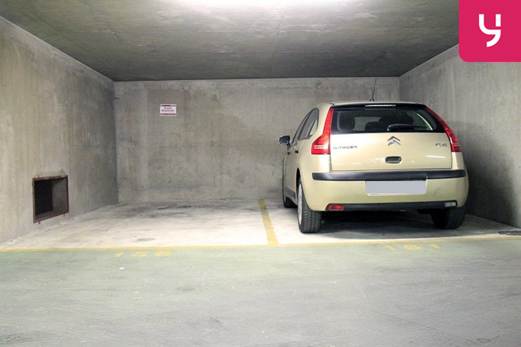Parking Ourcq - Petit location mensuelle