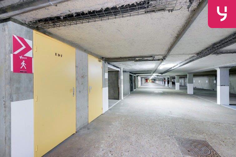 Parking Rue des Quatre Vents - Voisins-le-Bretonneux (place moto) souterrain