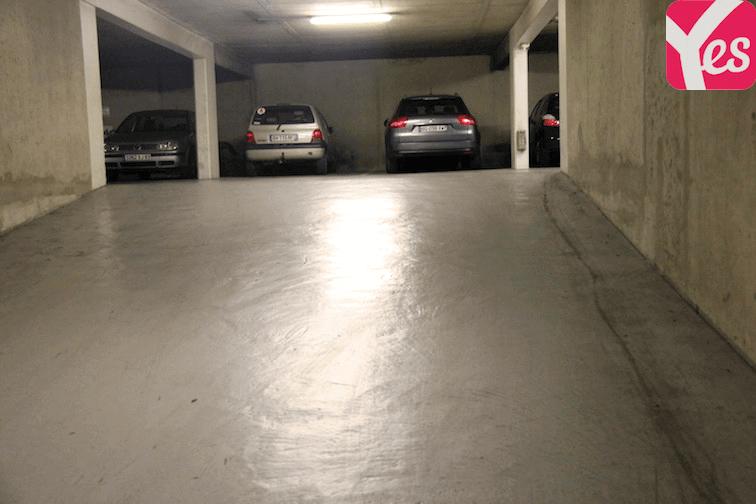 Parking Clichy - Hôpital Beaujon rue René Veziel