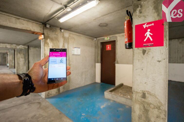Parking Centre Hospitalier Pellegrin - Bordeaux caméra
