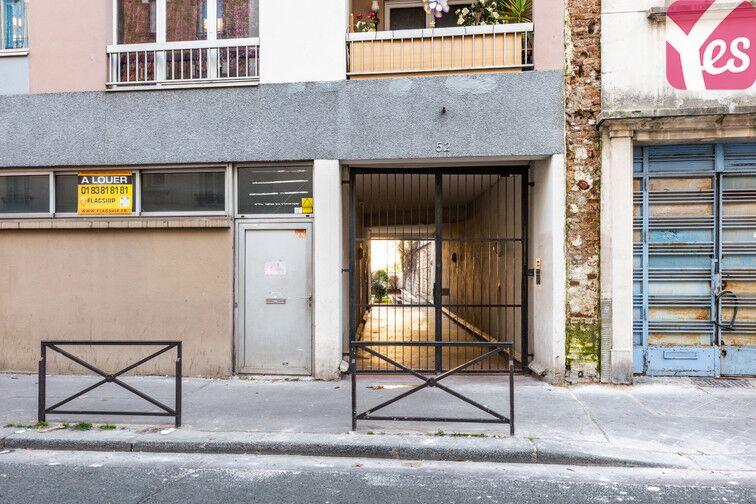Parking Théâtre de Ménilmontant - Paris 20 52 Rue Stendhal