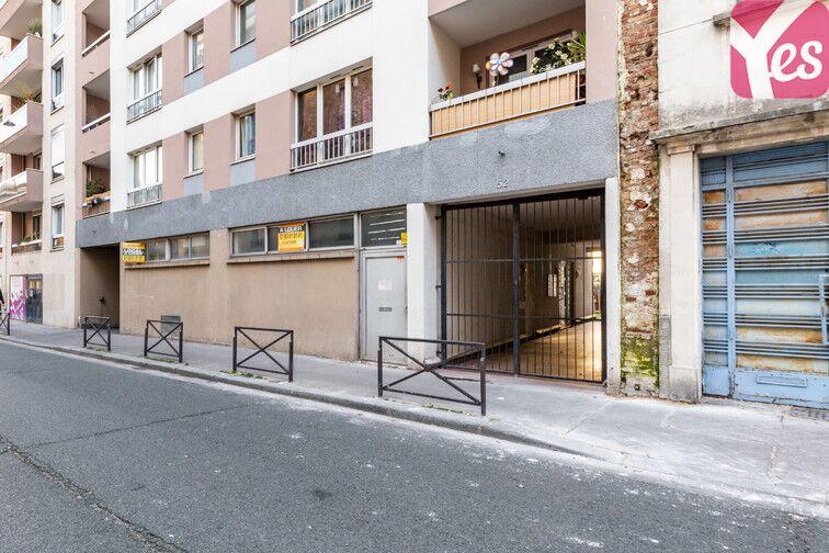 Parking Théâtre de Ménilmontant - Paris 20 location mensuelle