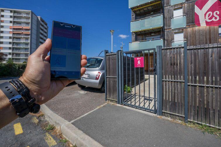 Parking Bordeaux - Caudéran - Poujeau sécurisé