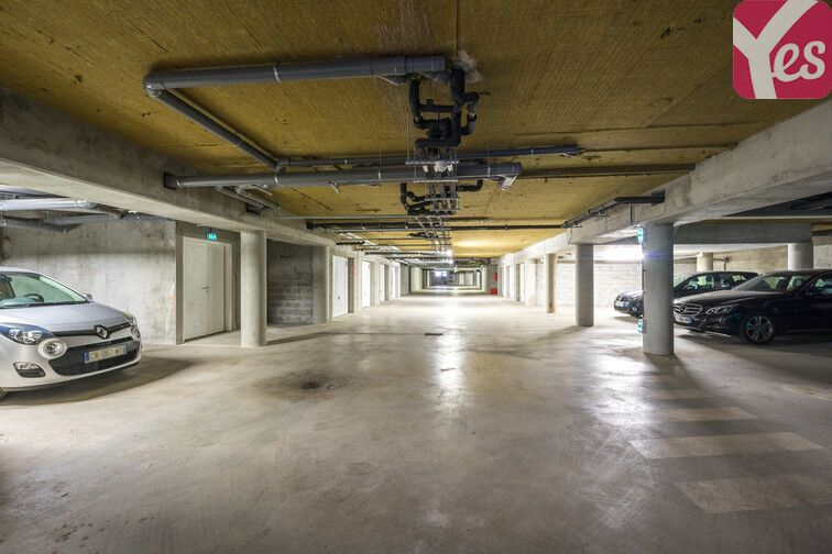 Parking Bibliothèque du Grand Parc - Bordeaux sécurisé