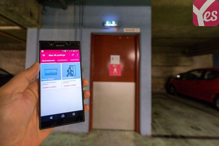 Parking Mériadeck - Bordeaux box