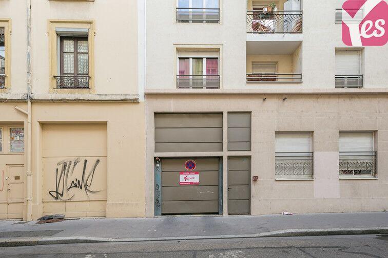 Parking Voltaire - Part Dieu - Lyon 3 sécurisé
