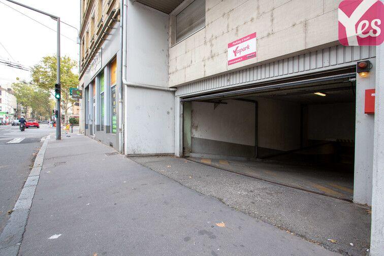 Parking Archives départementales - Lyon 3 garage