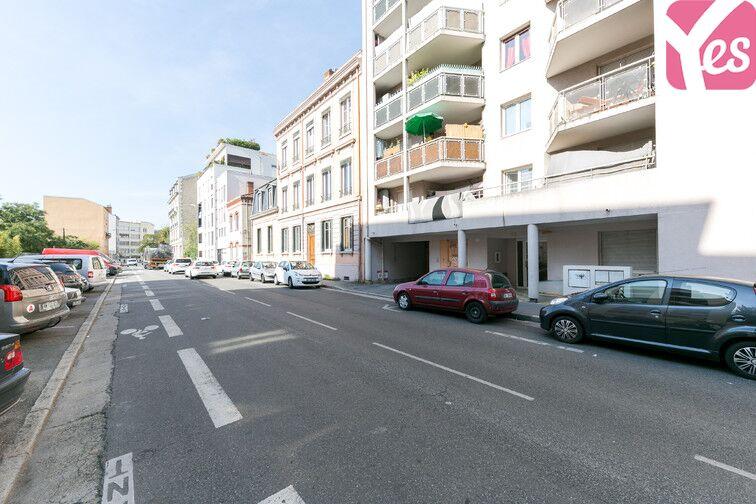 Parking Rochecardon - Industrie - Lyon 9 caméra