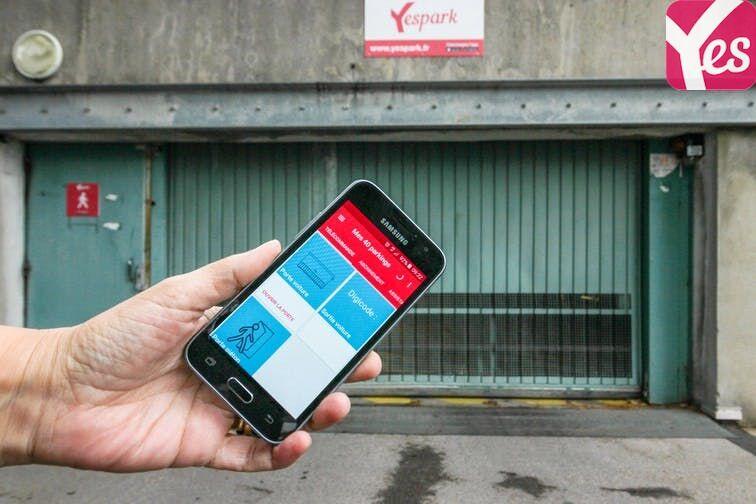 location parking Saint-Étienne - Saint-Roch - Vivaraize - Valbenoite - Centre Deux - Niveau -2