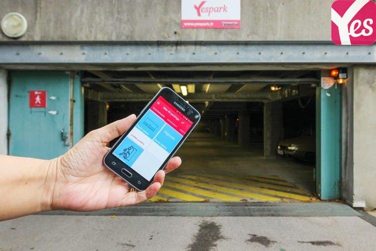 Parking Saint-Étienne - Saint-Roch - Vivaraize - Valbenoite - Centre Deux - Niveau -2 caméra