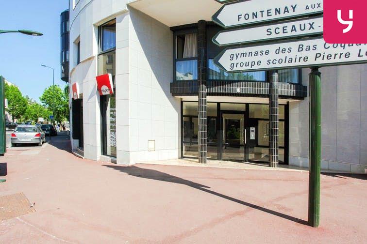 Parking Centre-ville - Bourg-La-Reine (place moto) sécurisé