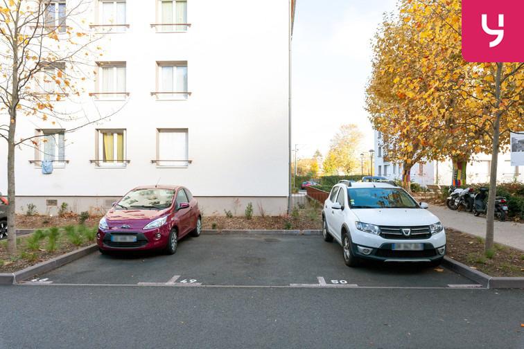 Parking Centre-ville - Prairie - Saint-Ouen-l'Aumône garage