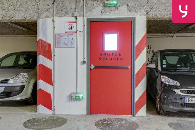 Parking La Bellevilloise - Paris 20 (place moto) box