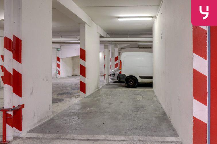 Parking La Bellevilloise - Paris 20 (place moto) caméra