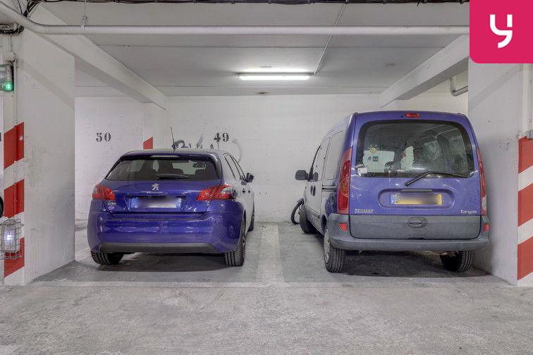 Parking La Bellevilloise - Paris 20 (place moto) à louer