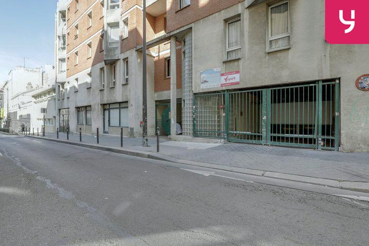 Parking La Bellevilloise - Paris 20 (place moto) souterrain