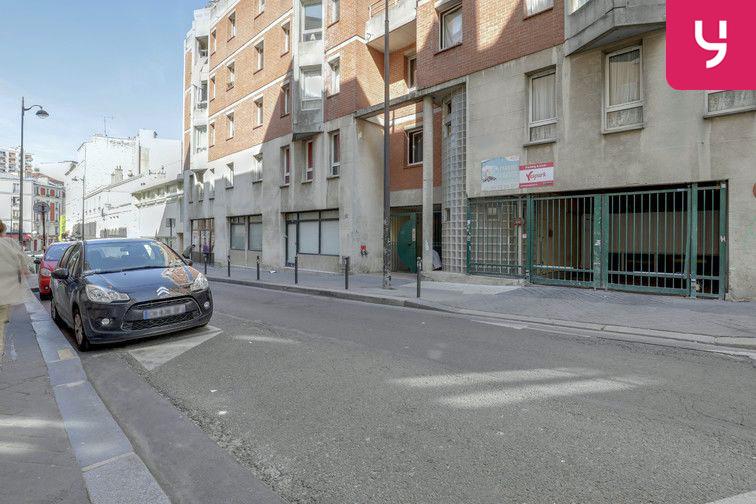 Parking La Bellevilloise - Paris 20 (place moto) sécurisé